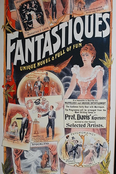Gaiety theatre poster magician