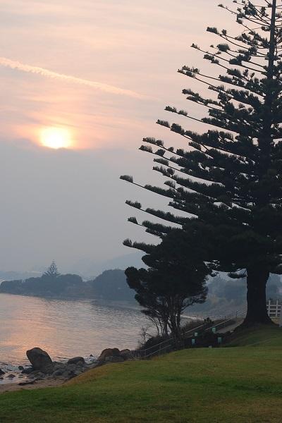 Photo of sunrise in Penguin Tasmania