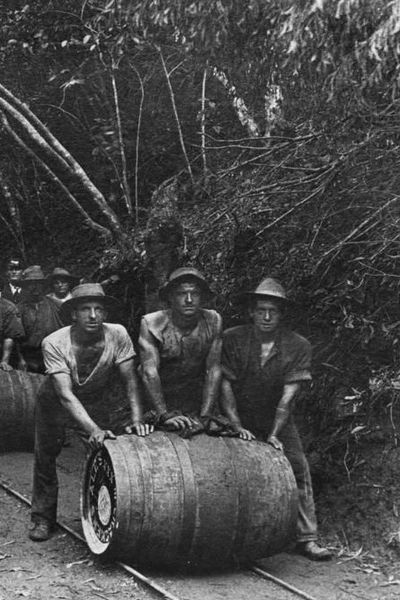 1911 Australian railway workers